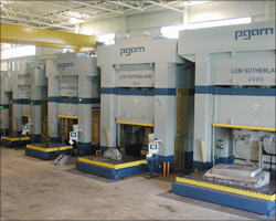 Die Tryout Presses - 2000 ton