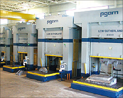 Die Tryout Presses - 2500 ton