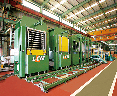 PCB/CCL/Laminating Press - Lien Chieh Machinery - PCB/CCL